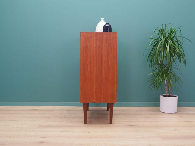 Armoire en teck, design danois, années 1970, production: Danemark