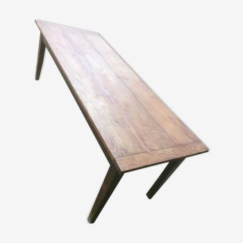 Table ferme ancienne pieds fuseaux