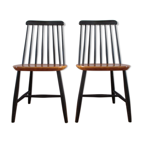 Paire de chaises scandinave, 1960