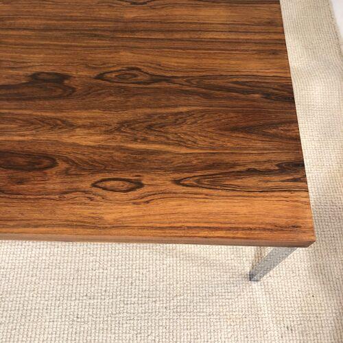 Table basse en palissandre design Knud Joos