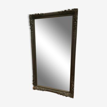Miroir de style Louis XV en chêne sculpté 160x90cm