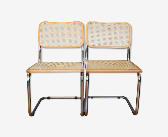 Chaises Cesca par Marcel Breuer B32