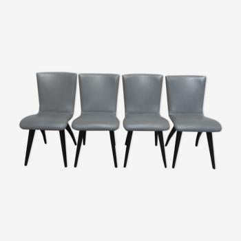 Set de 4 chaises par Os Culemborg