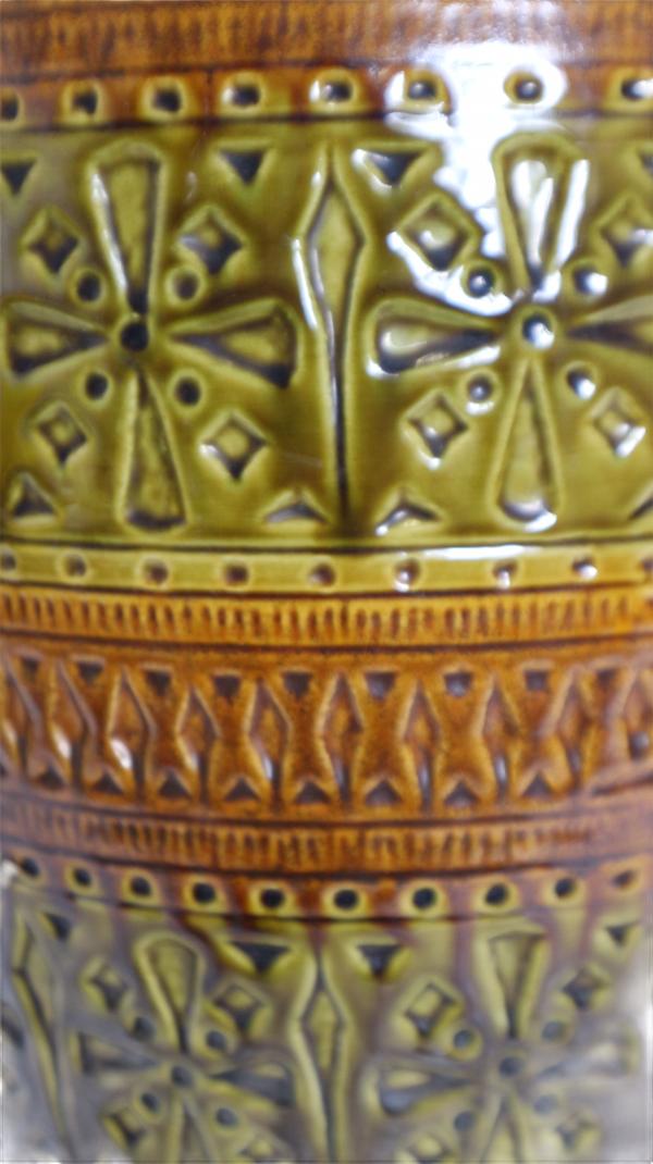 Vase Allemagne de l'Ouest U Keramik
