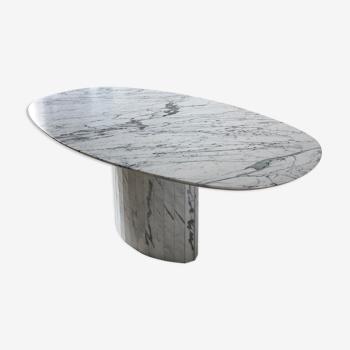 Table marbre arabescato Italie vintage
