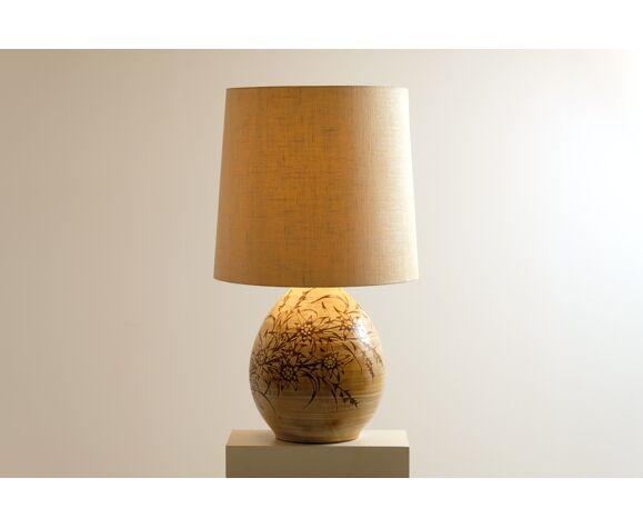 Lampe par Fonck et Mateo Vallauris 1960's