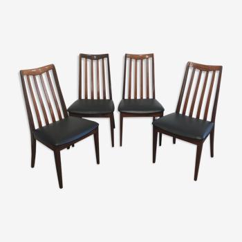 Suite de quatre chaises  par Leslie Dandy pour G-Plan, années 1960