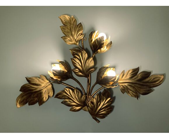 Applique Hans Kögl en métal doré