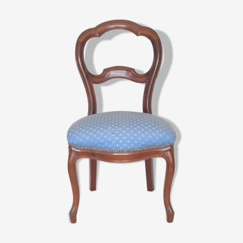 Chaise Louis Philippe trèfle