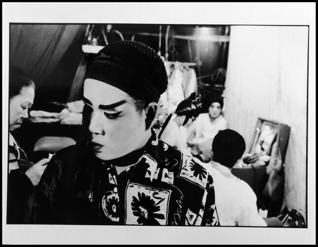 Portrait d'art N&B  Asie du Sud Est mi-century