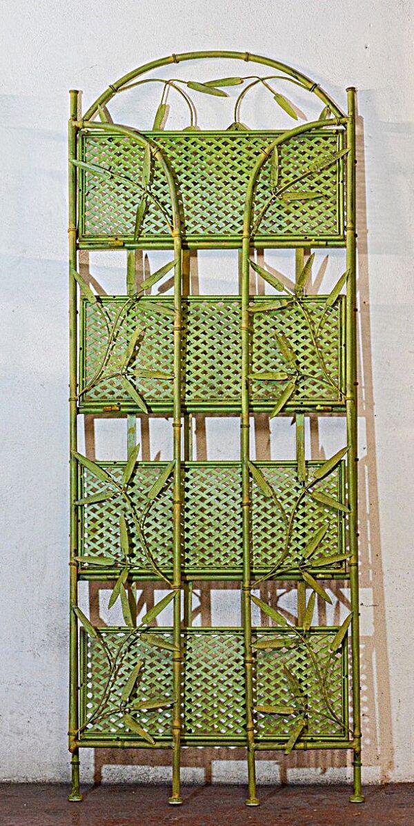 Etagère décorative pliable en métal
