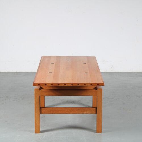 Table basse des années 1960 par De Coene, Belgique