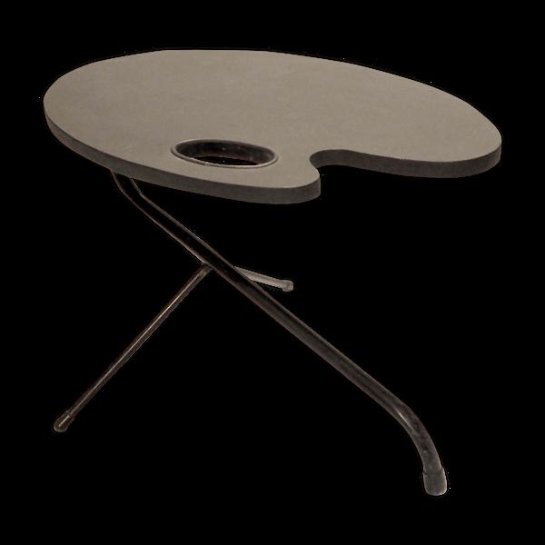 Table palette tripode