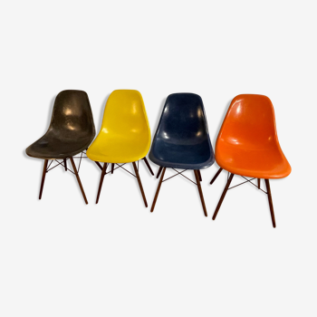 Chaises de Charles & Ray Eames édition Herman Miller