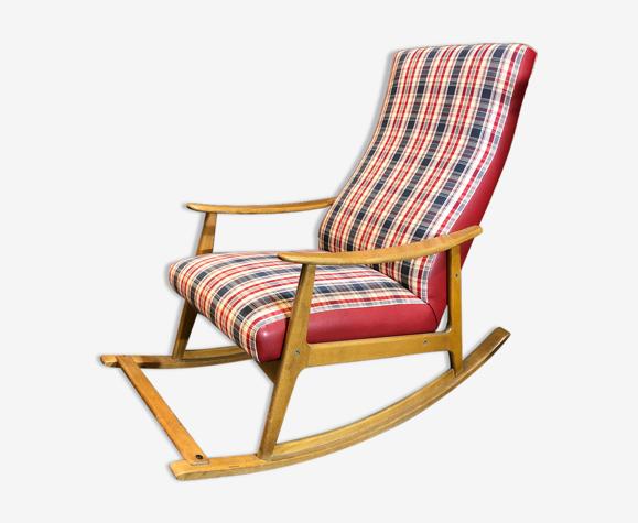 Rocking-chair des années 50/60 scandinave
