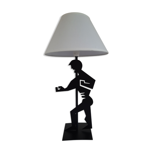 Lampe Kung-fu années 80