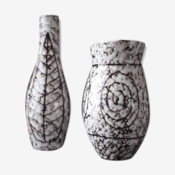 Pair of ceramic vases 1960