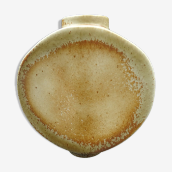 Vase en porcelaine de Virebent vers 1970 forme et couleurs vintage