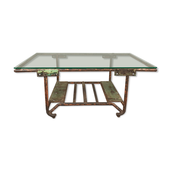 Selency Table basse en verre