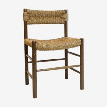 Chaise en chêne teinté 1960s-1970s