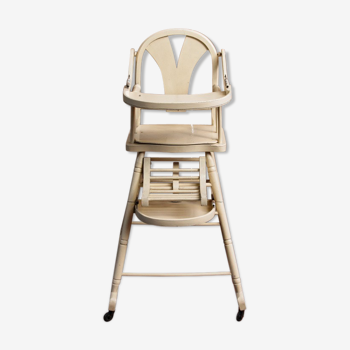 High child chair - baby, art deco