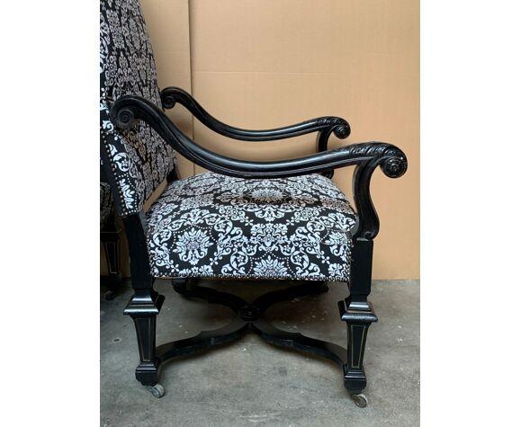 Deux fauteuils Napoléon III