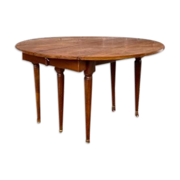 Table de salle à manger en acajou XIXème siècle