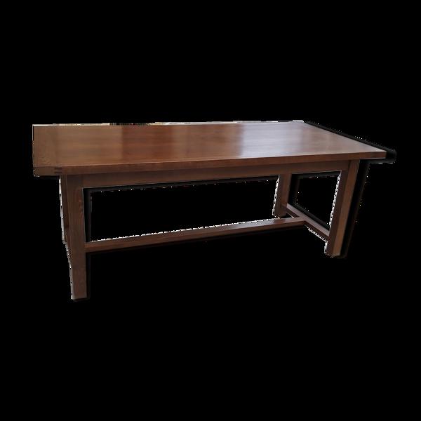 Selency Table de ferme en chêne 2 m