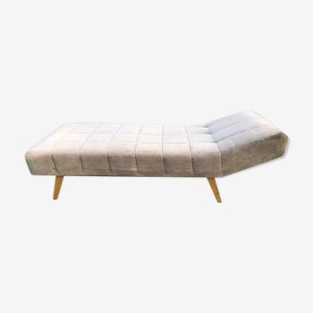Daybed sofa canapé méridienne vintage années 60