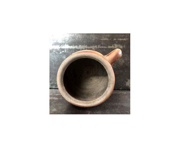 Pot ancien grès vernissé