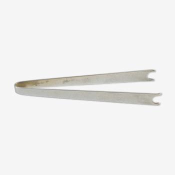 Pince glaçons christofle en métal argenté collection gallia
