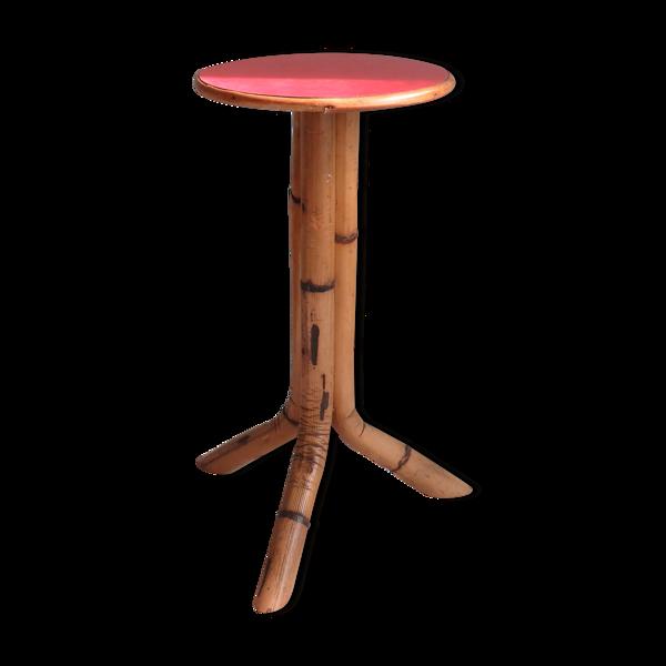 Table d'appoint en bambou 1960