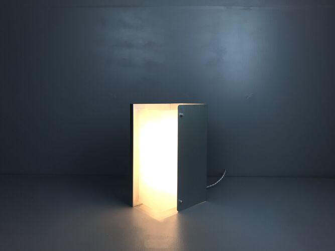 Applique en aluminium de Pierre Vandel circa 1970