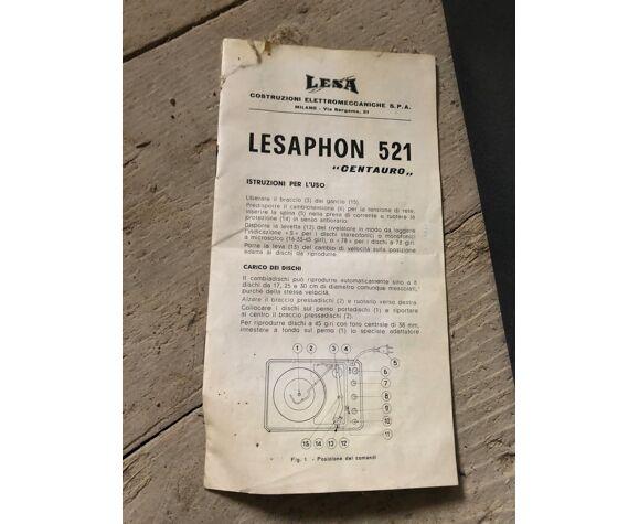 Tournedisque Lesaphon 521