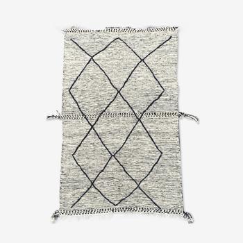Tapis berbere kilim en laine 150x270 cm