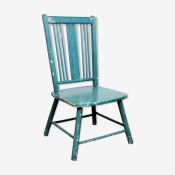 Wooden 50s children's chair