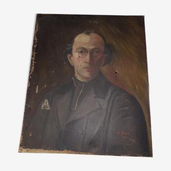 Portrait de  Father (Henry) Metzger