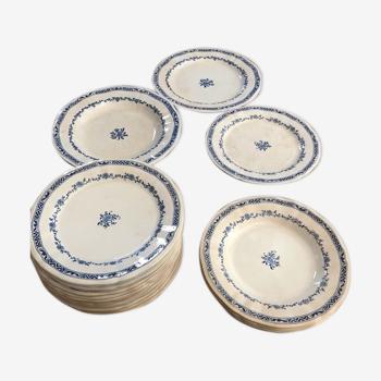 Service porcelaine Gien