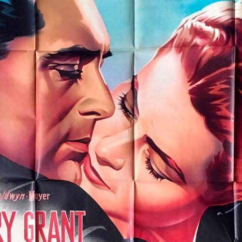 Les enchaines affiche de film 120x160 cm. - r1963 - alfred hitchcock, cary grant