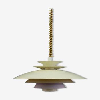 Lampe vintage rétro design danois 60 70