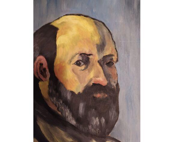 Portrait de Paul Cezanne