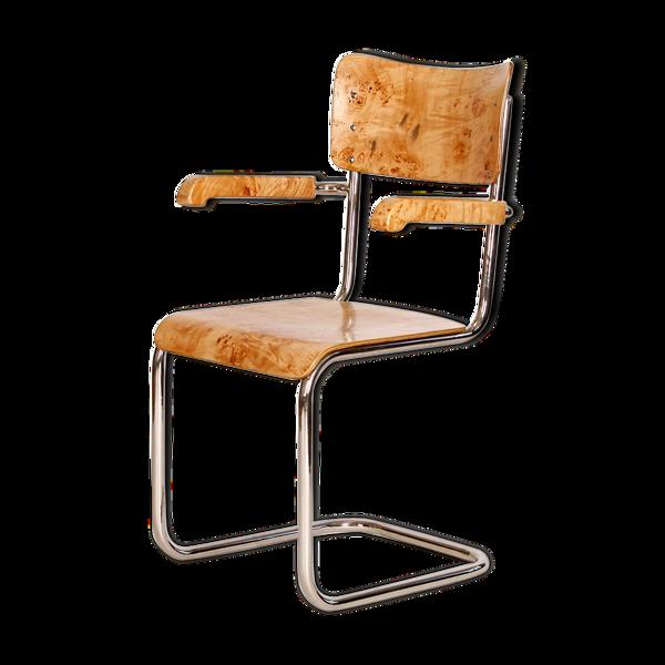 Selency Chaise tubulaire en acier, années 1930