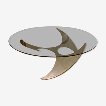 Table basse «propeller» Knut Hesterberg