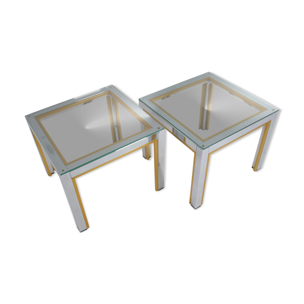 Selency Tables d'appoint Renato Zevi  design italien