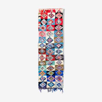 Tapis berbere boucherouite couloir 80x265 cm