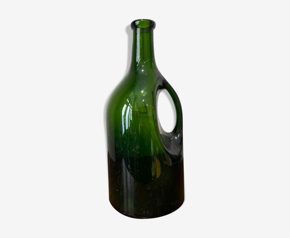 Bouteille verre olive