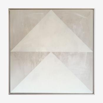 Œuvre d'art originale sur toile Slash #5 - 100x100cm