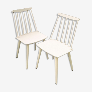 Paire de chaises scandinaves Théodore Harlev pour Farstrup