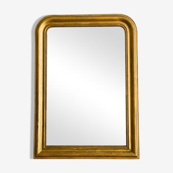 Miroir Louis Philippe doré 107x77cm