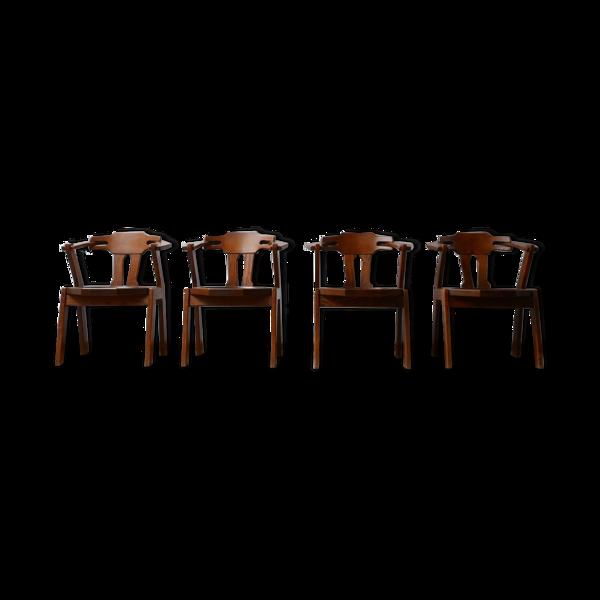 Lot de 4 chaises à manger